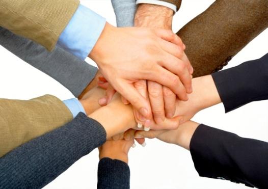 Team Handshake 3